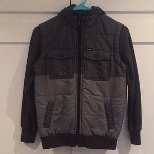 Boys RVCA jacket size S